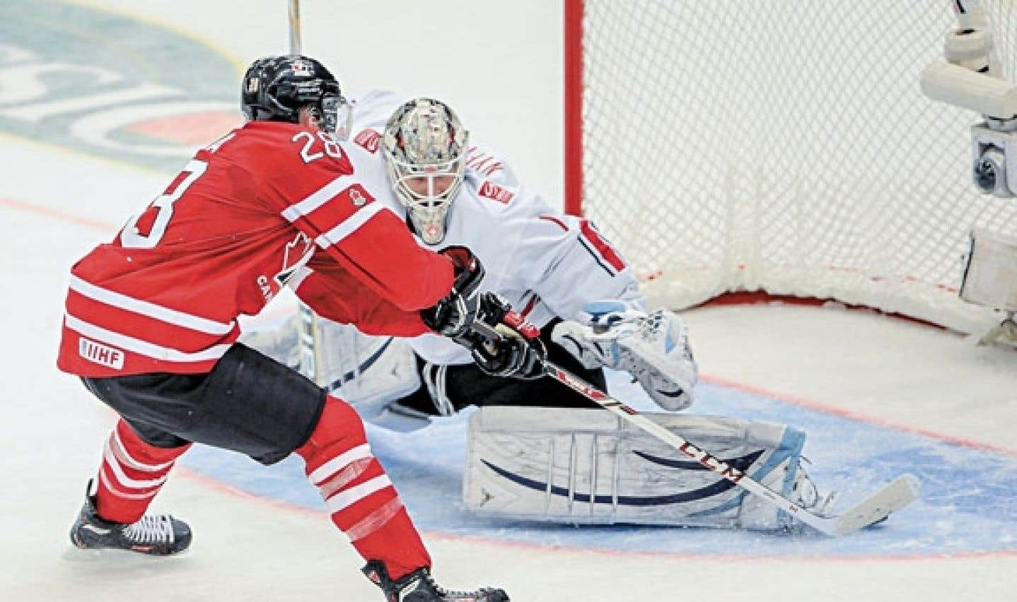 Le Canada bat la Suisse