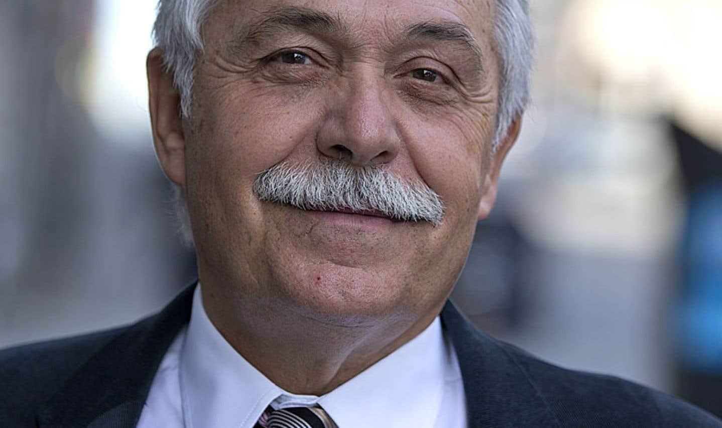 L'historien français et délégué général du Centre Jacques-Cartier, Alain Bideau