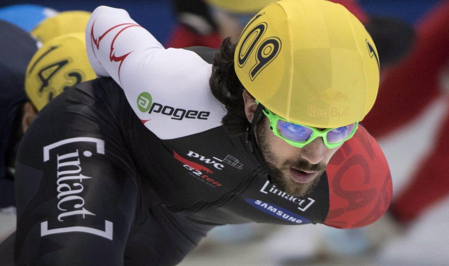 Dans une finale endiablée, Hamelin a coiffé dans le dernier virage le champion olympique de Sotchi, Victor An, en 40,623 secondes.