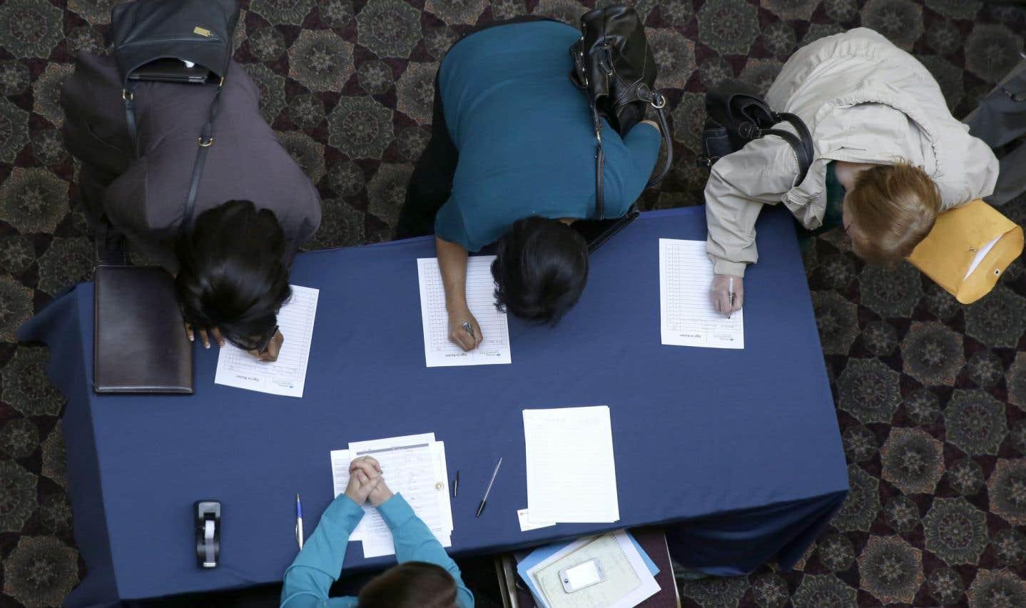 Les sans-emploi reprennent espoir aux États-Unis
