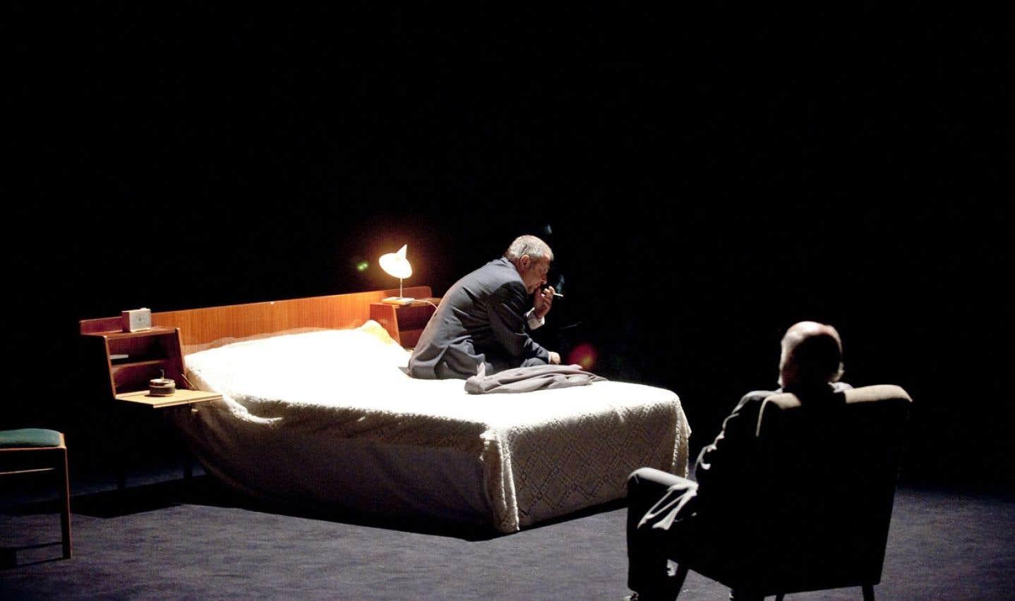 La Grande et fabuleuse histoire du commerce, un spectacle de la compagnie Louis Brouillard présenté en 2013.