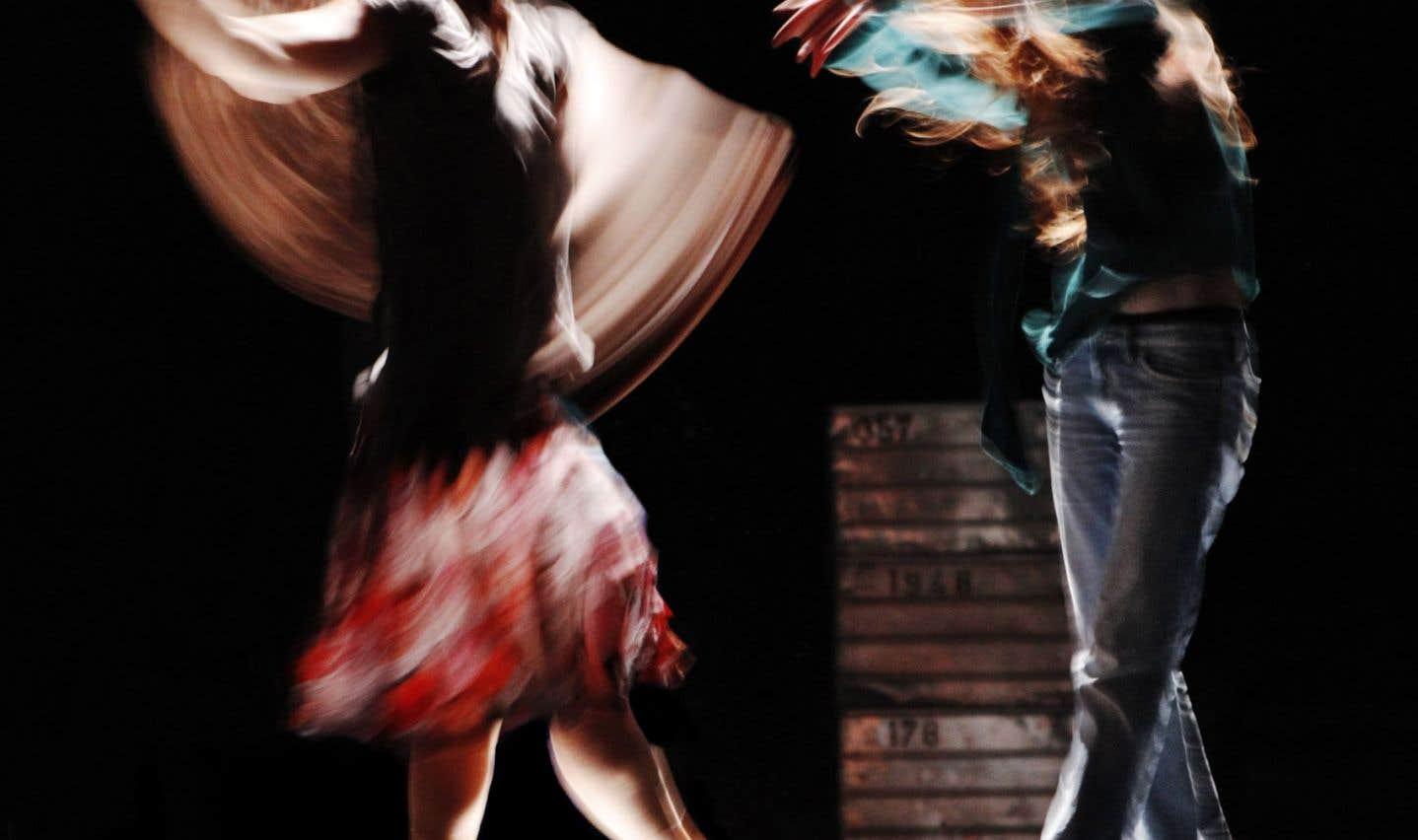 La danse-théâtre Trust, en mai 2011