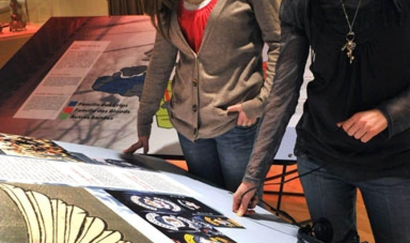 L'exposition Québec en crimes garde ses portes ouvertes jusqu'au 28septembre.
