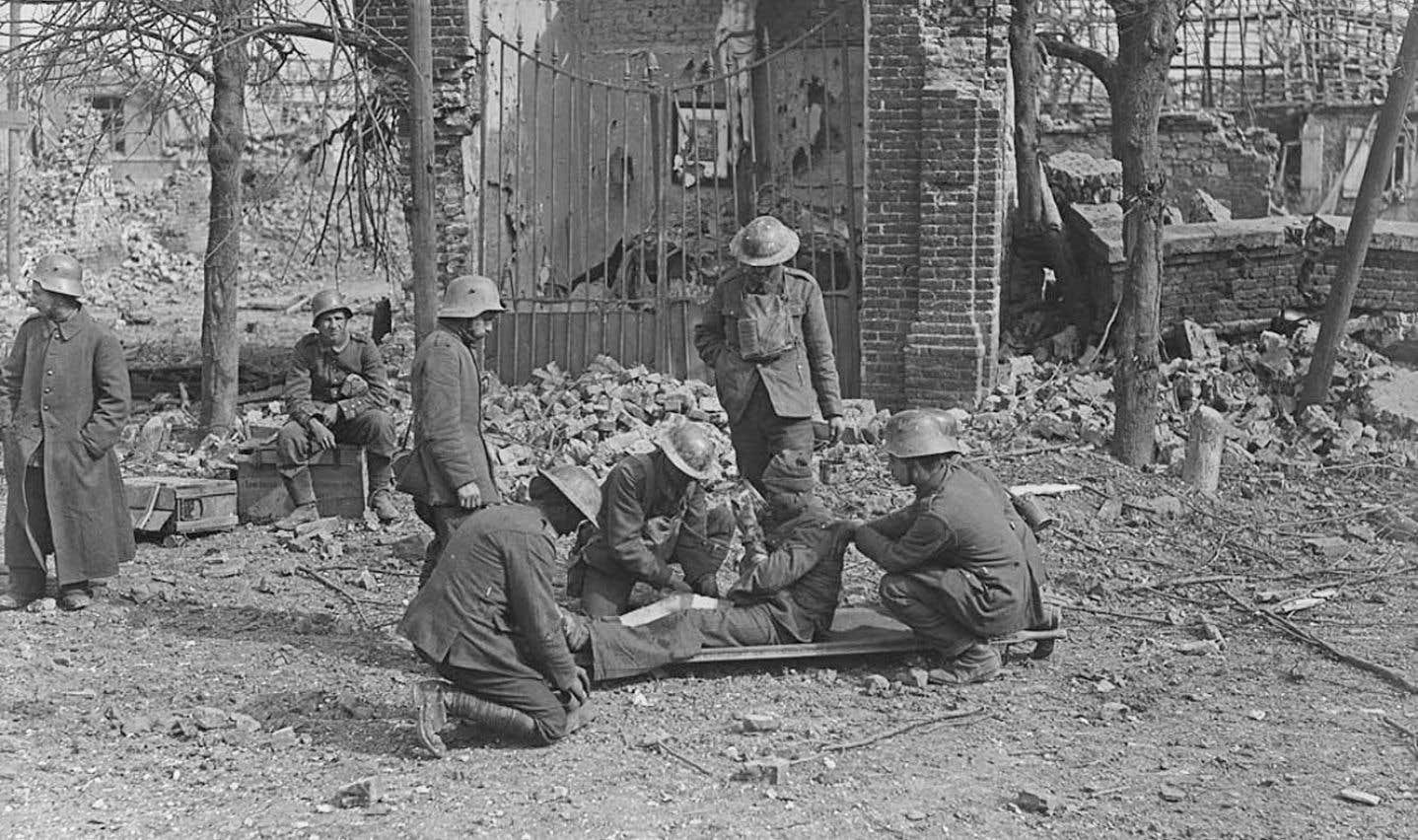 Tirée de l'exposition La Grande Guerre: Le pouvoir d'influence de la photographie, au Musée des beaux-arts du Canada.