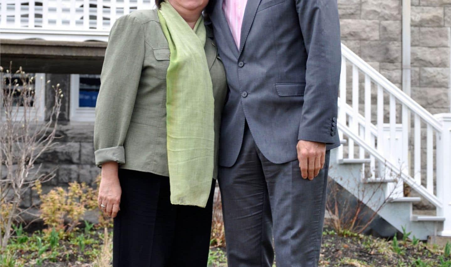 Déborah Bélanger et Martin Damphousse