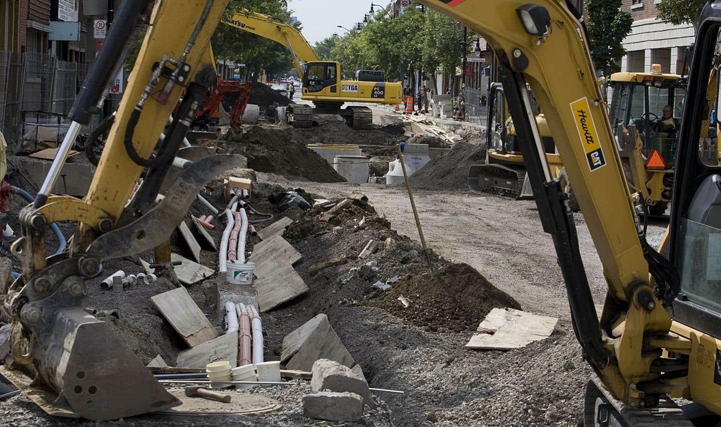 Il faudrait investir 3milliards de plus qu'à l'heure actuelle pour remettre les infrastructures municipales à niveau.