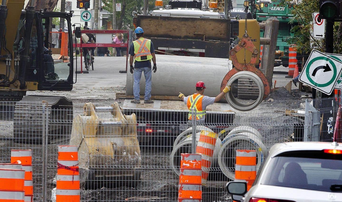 Montréal forcée d'investir 2,6milliards pour retaper ses infrastructures