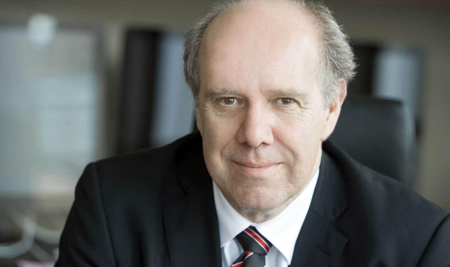Pierre Dumouchel, directeur général de l'École de technologie supérieure