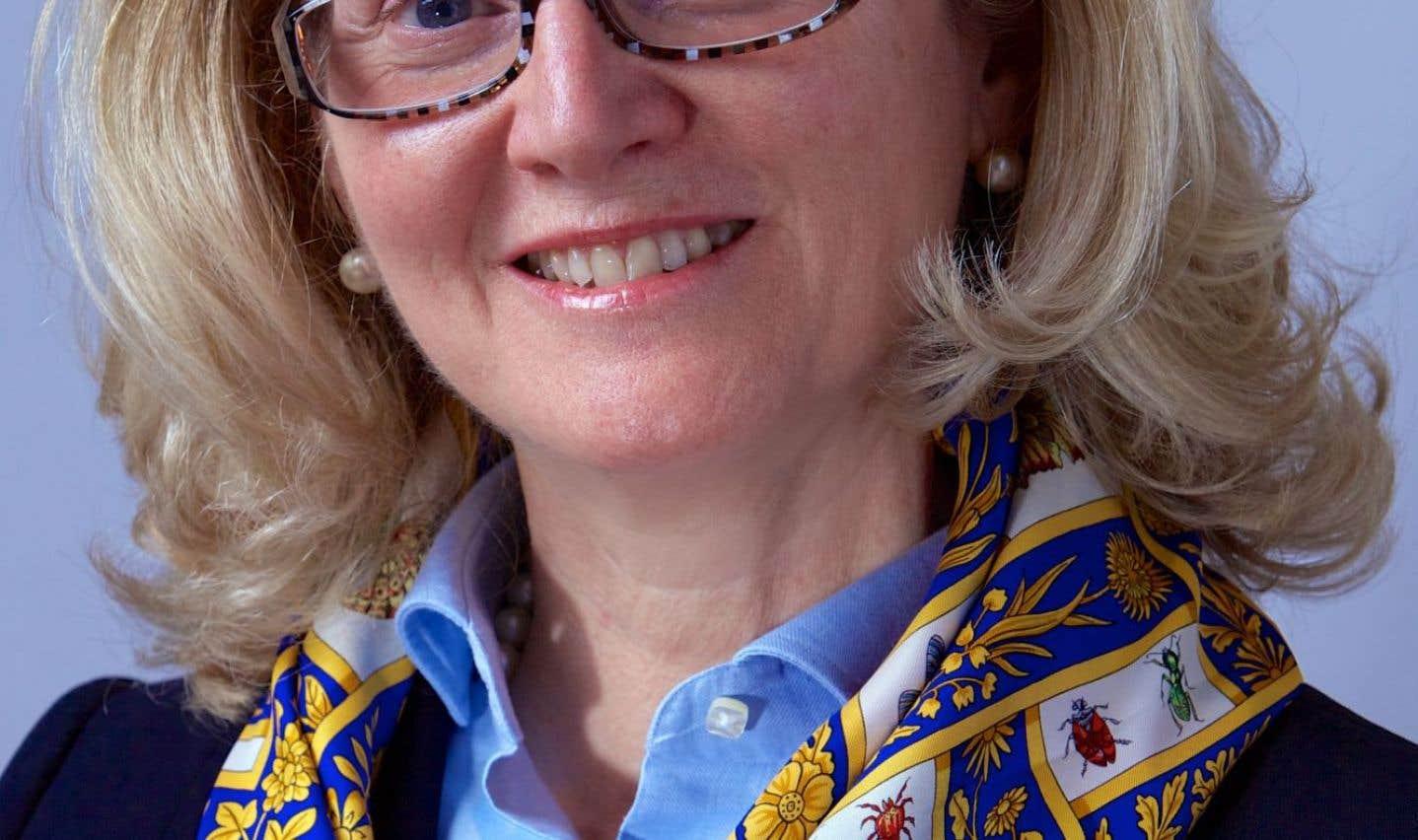 La présidente-directrice générale de TV5 Québec Canada, Suzanne Gouin