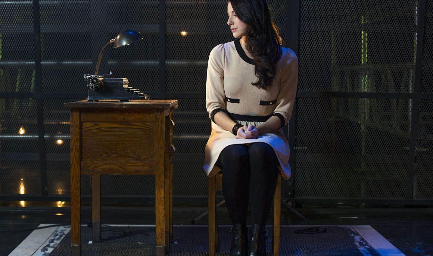 C'est la jeune Mylène St-Sauveur qui personnifiera Anne Frank.