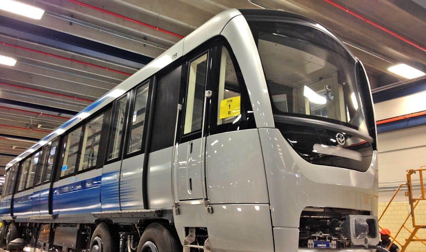 Bombardier doit suspendre la production des voitures de métro Azur pour six mois