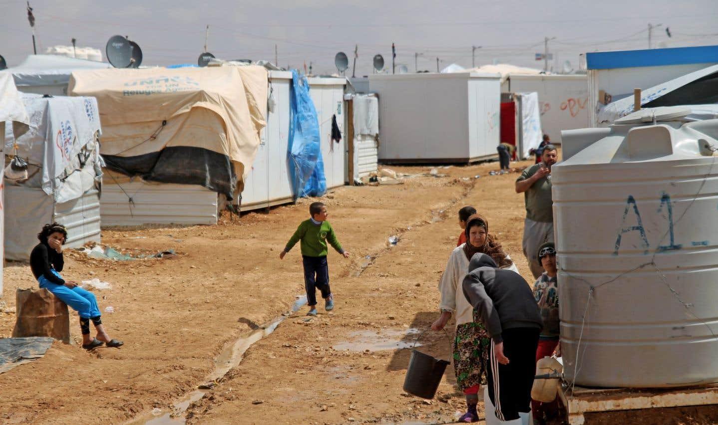 «Lorsque je suis arrivé au camp à 30 kilomètres de la Syrie, sous escorte, j'ai été sous le choc», raconte le responsable de l'information chez AED, Robert Lalonde.