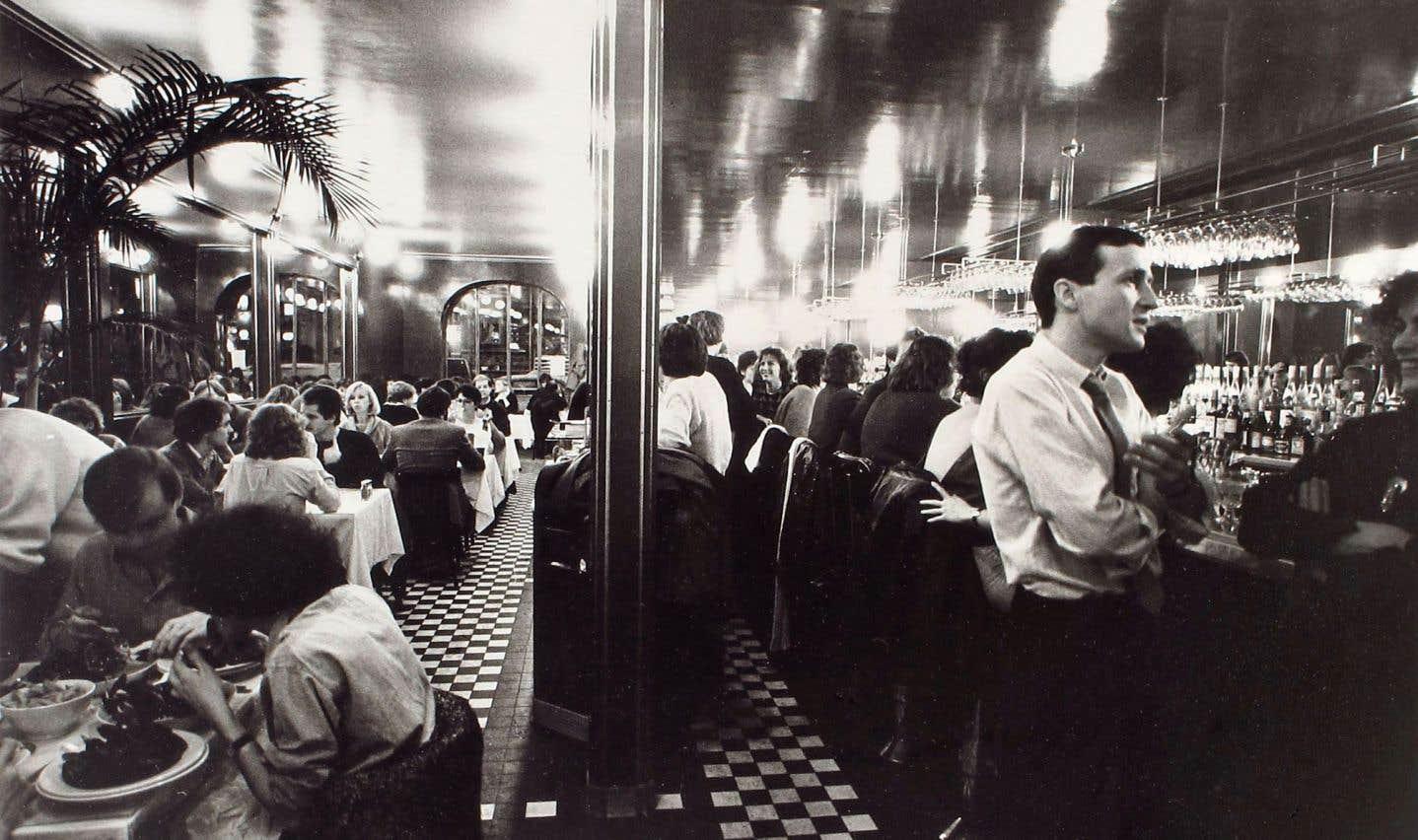Photo prise par Georges S. Zimbel à L'express de Montréal, en 1988