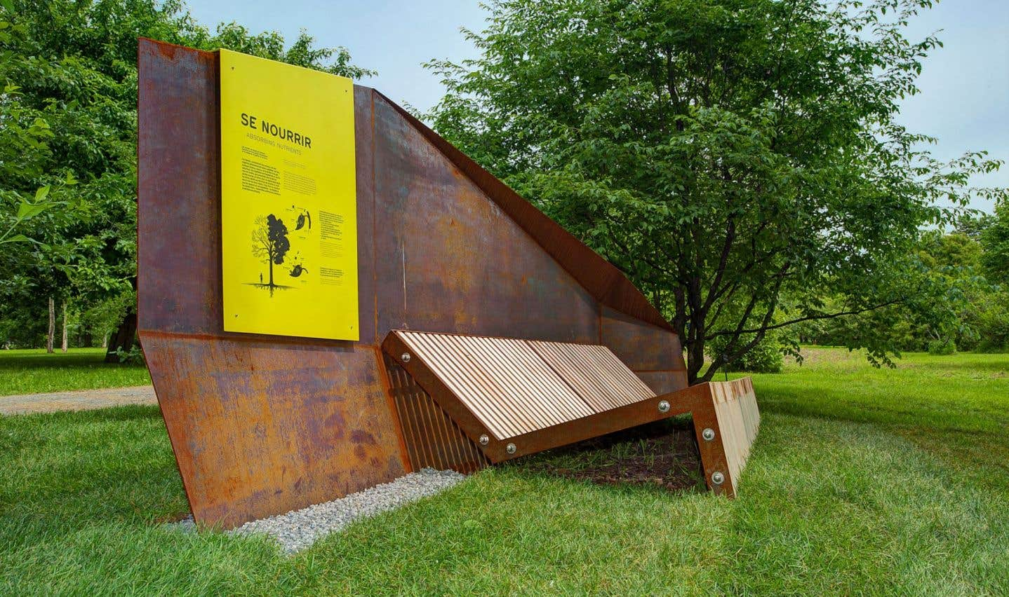 L'Arboretum, implanté dans le Jardin botanique, a permis à Montréal de remporter le prix Aménagement.