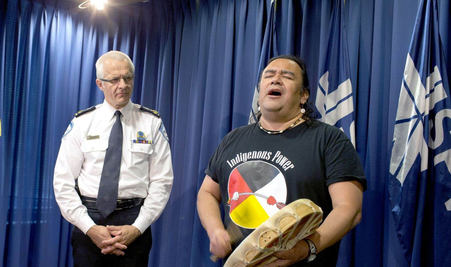Le SPVM veut travailler plus étroitement avec  les autochtones