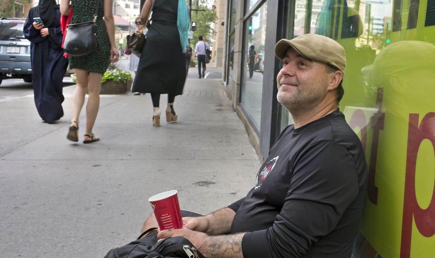 Montréal compte environ 3000 itinérants