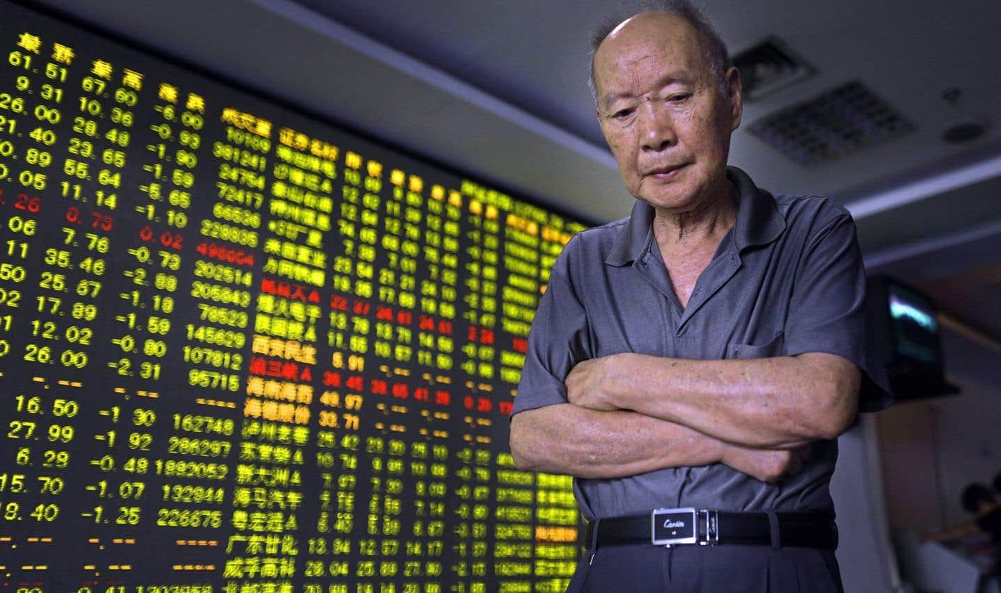 Les déboires de la Chine malmènent les marchés financiers