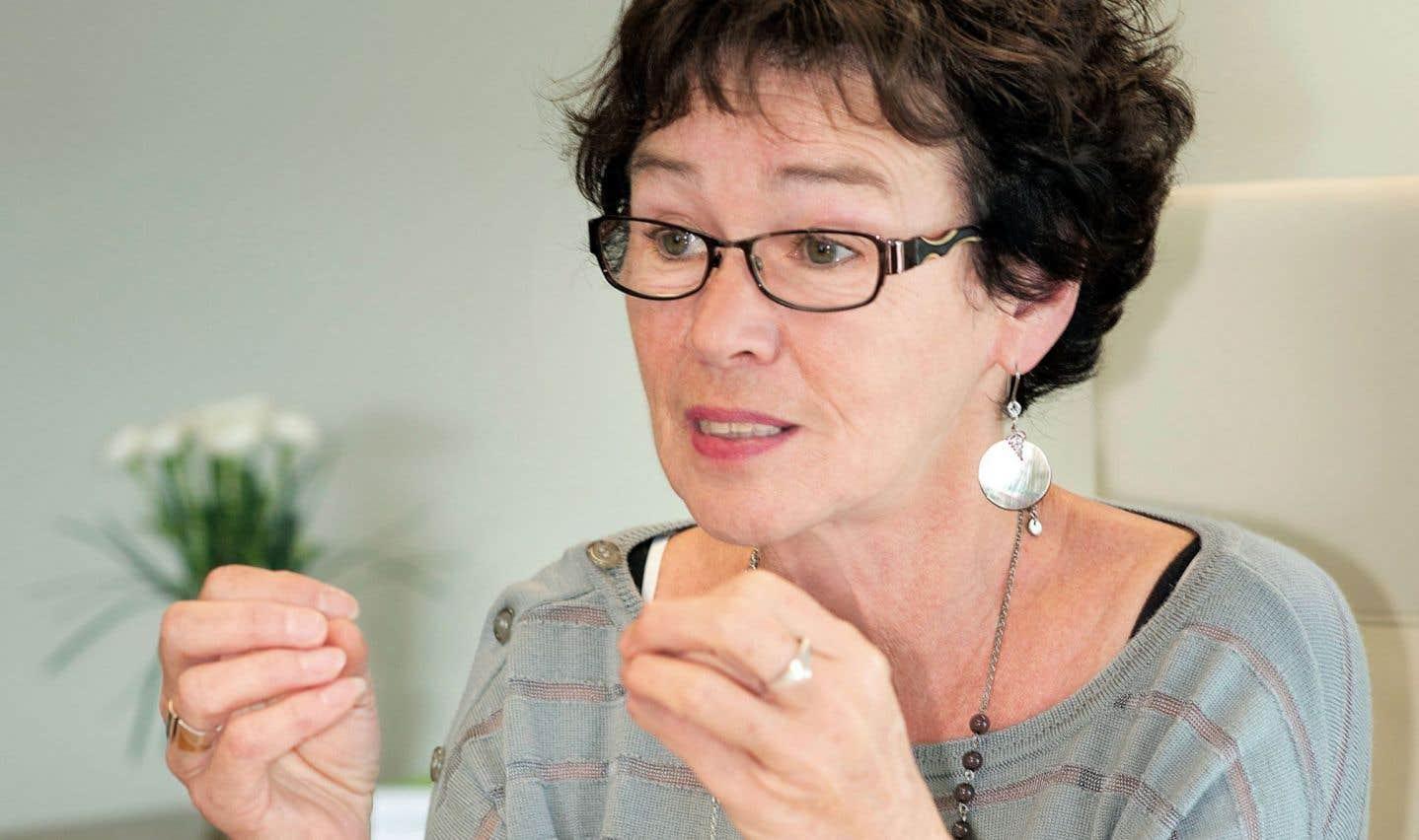 Louise Chabot, présidente de la Centrale des syndicats du Québec