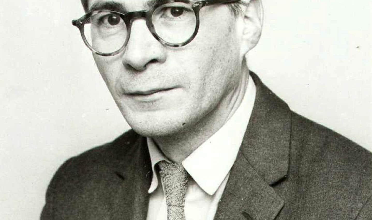 Le politologue québécois Léon Dion