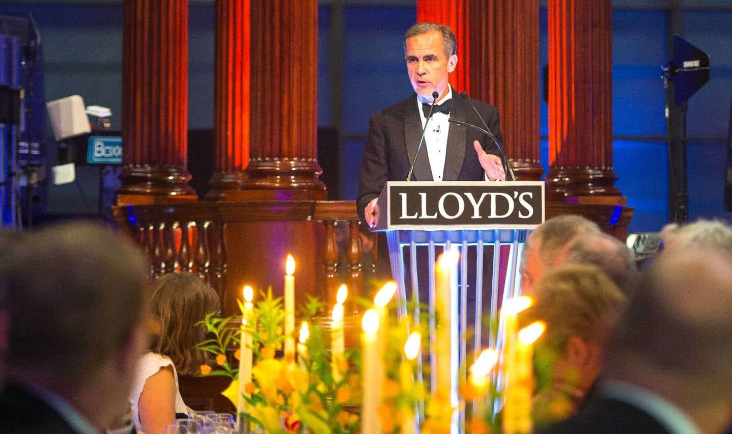 Une grave menace pour la stabilité financière mondiale, dit Mark Carney