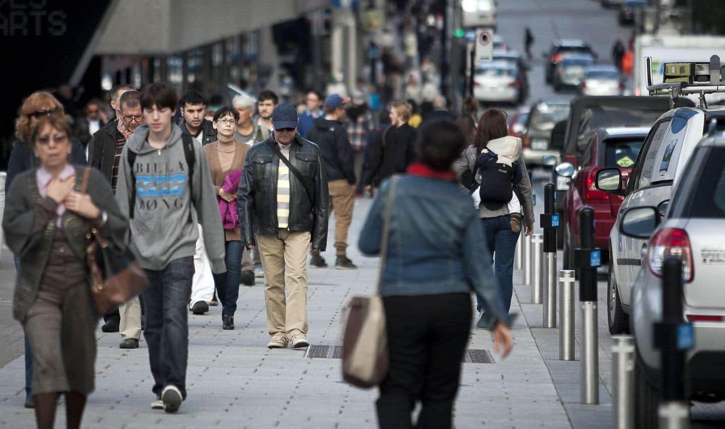 Selon Dan Rubinstein, la «bonne direction» équivaut, pour quiconque s'adonne à la marche, à une meilleure santé physique et mentale, et, pour la planète, à une meilleure santé économique, écologique et sociale.