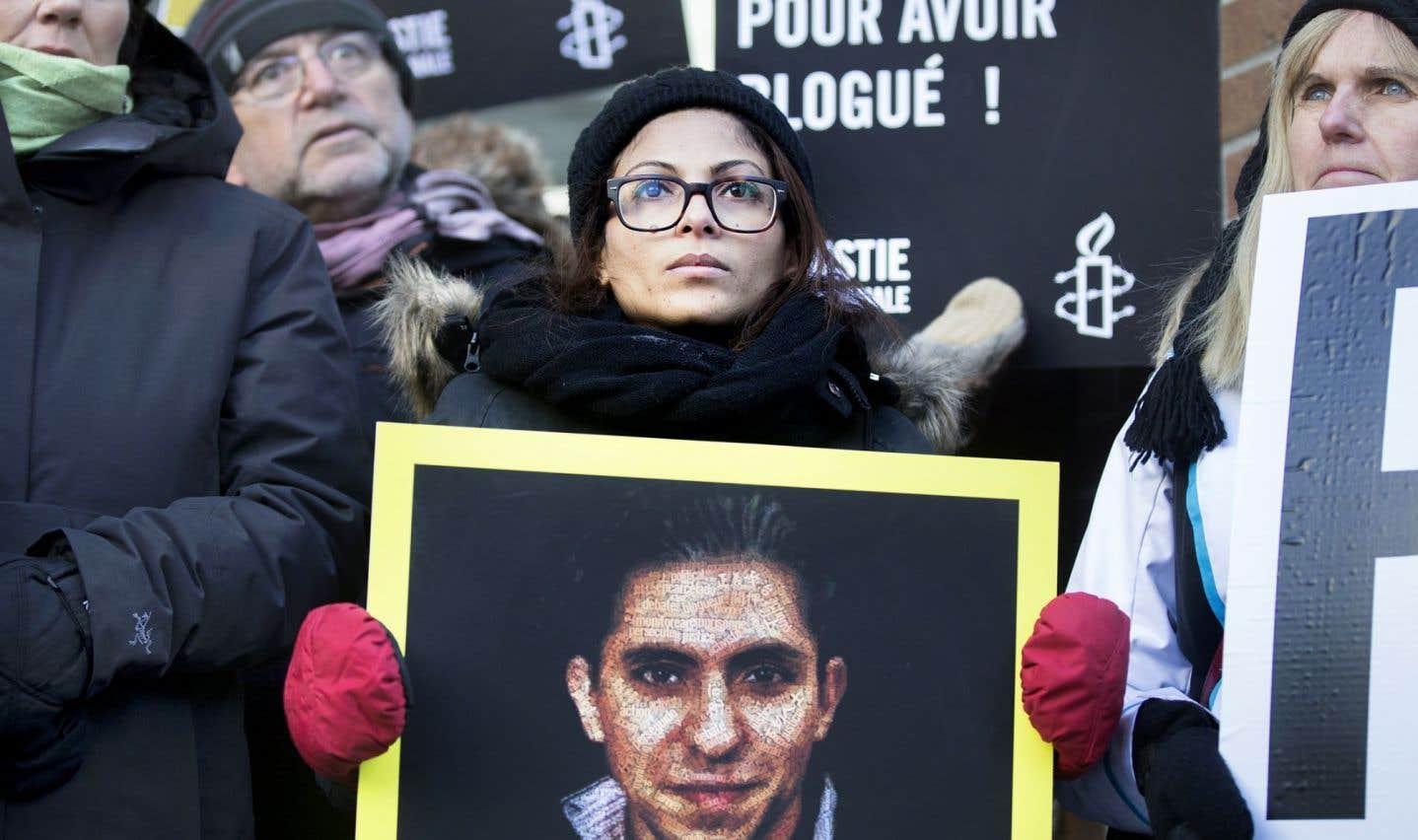 Raïf Badawi est en lice pour le prix Sakharov