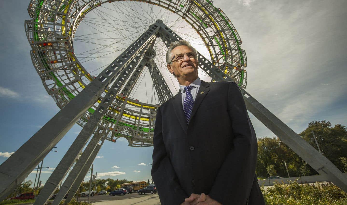 Le maire Gilles Deguire travaille d'arrache- pied pour transformer en profondeur son arrondissement.