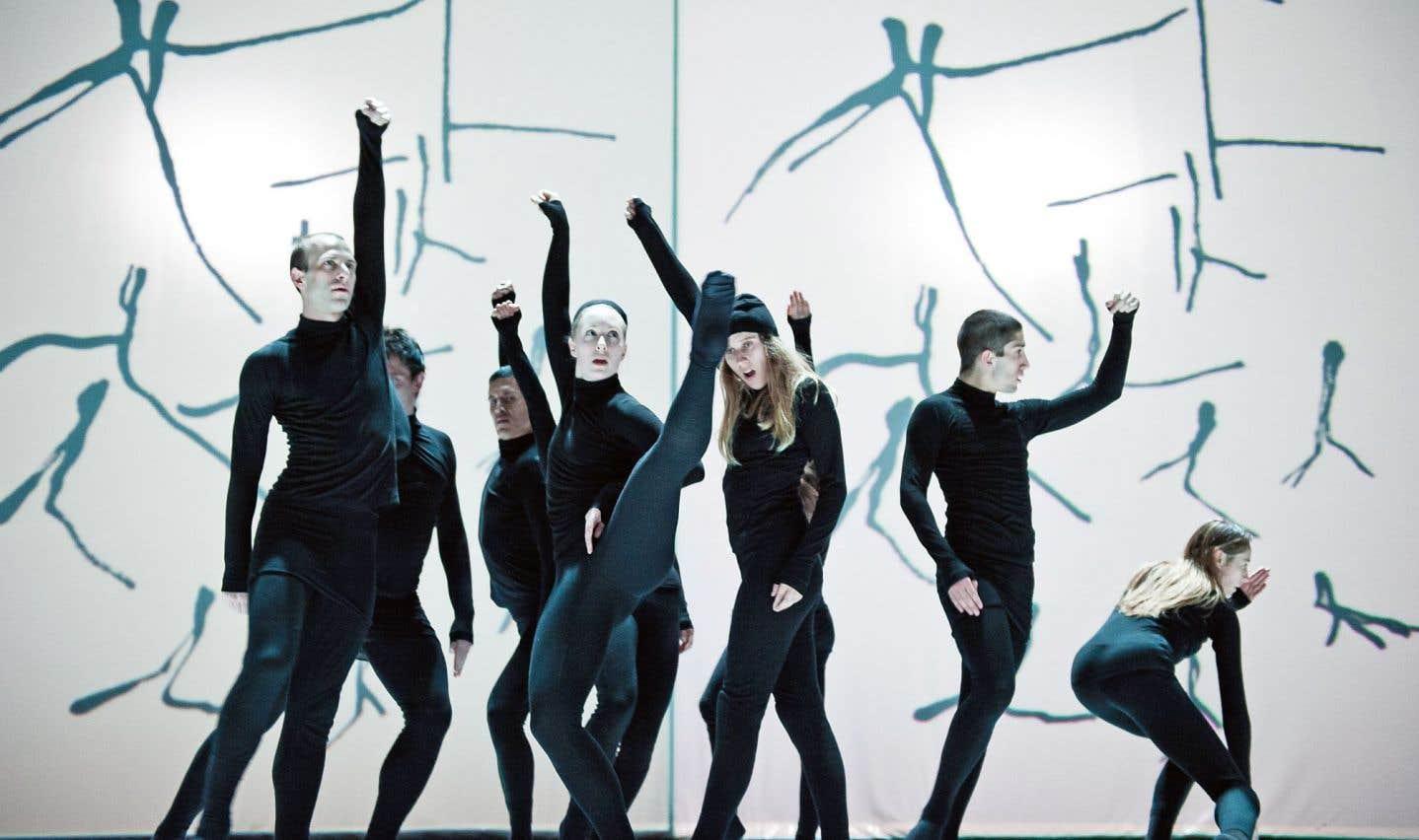 La compagnie Marie Chouinard au Festival des arts de Saint-Sauveur l'an dernier