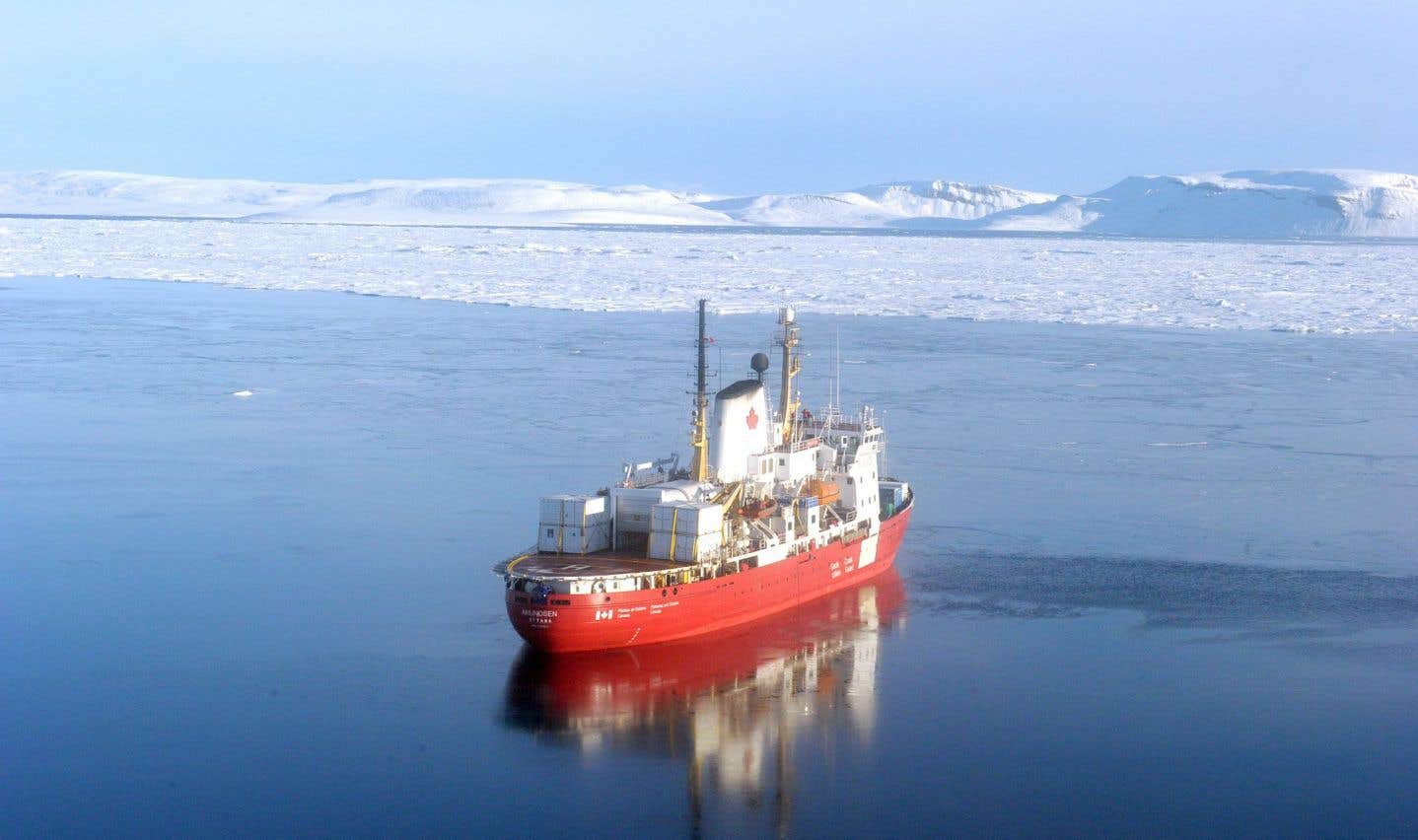 La fonte de l'Arctique menace le thermostat de la planète