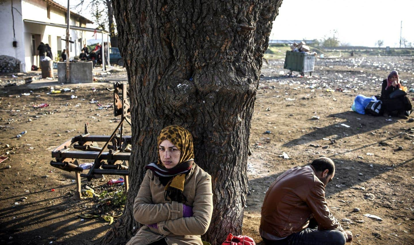 Même si de nombreuses familles syriennes bénéficient de l'aide du Québec pour venir au Québec grâce au parrainage, d'autres sont obligées de prendre la route et de traverser plusieurs pays pour arriver à leur destination.