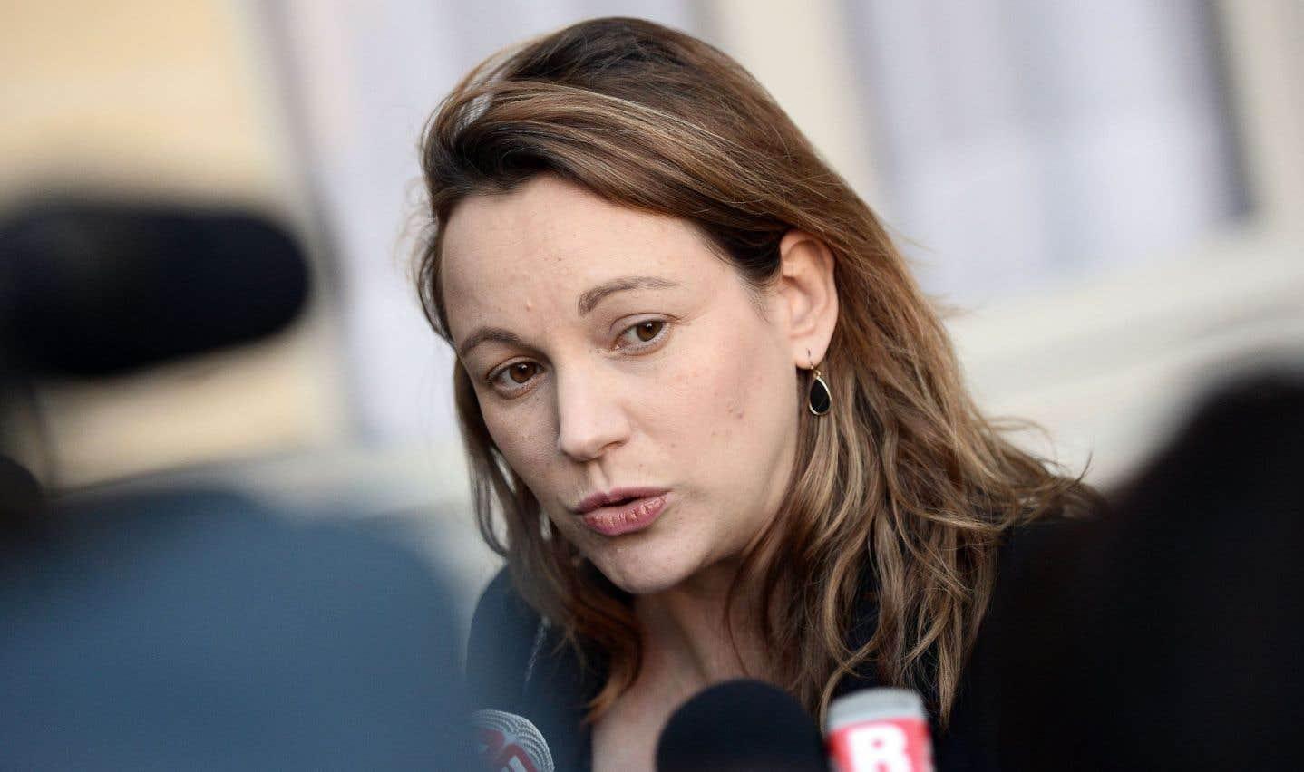 Axelle Lemaire, la secrétaire d'État française chargée du numérique