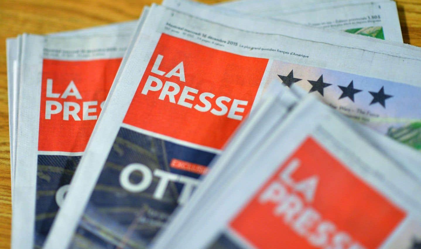 Deux ententes à «La Presse»