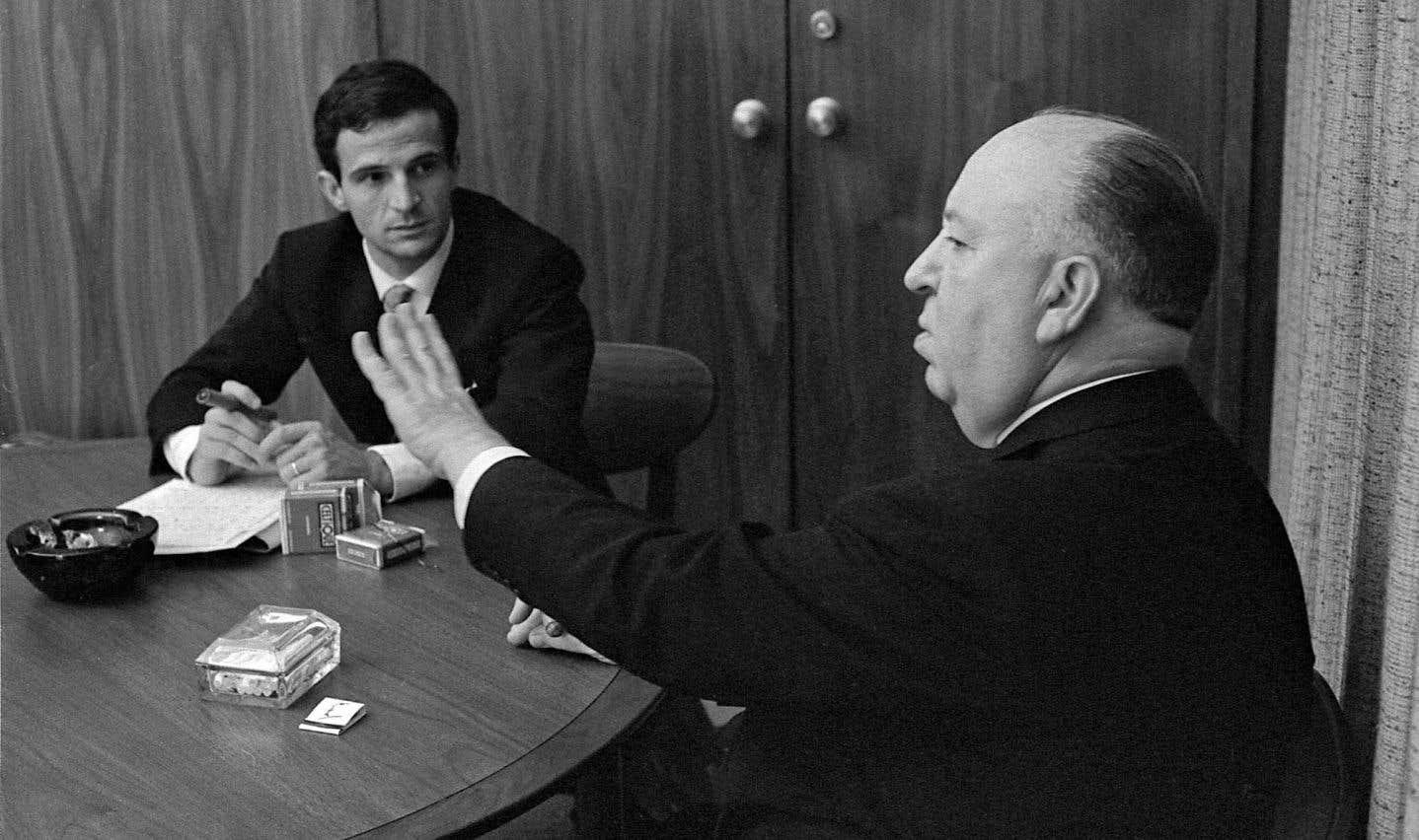 François Truffaut en entretien avec Alfred Hitchcock