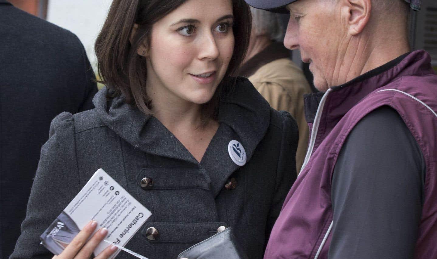 Catherine Fournier songe à la chefferie du Bloc