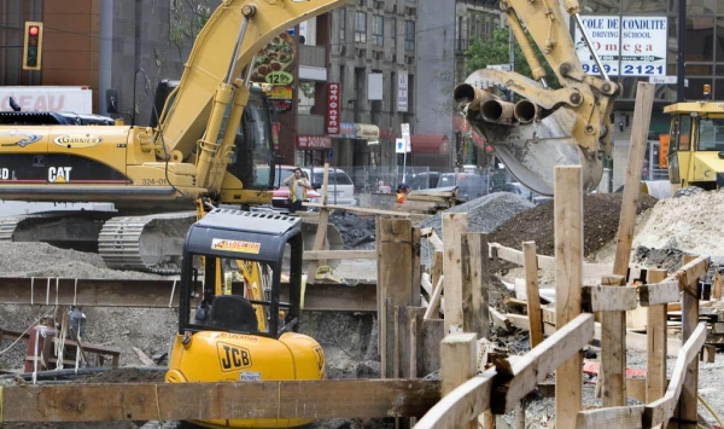 Secteur de la construction: toujours pas d'enquête publique
