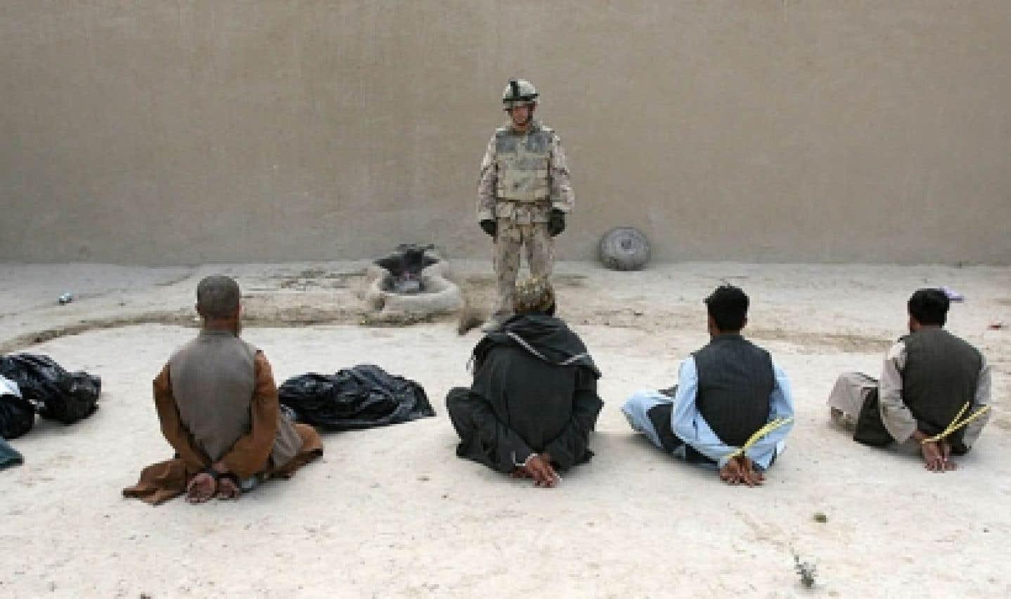 Torture en Afghanistan - Les transferts ont été suspendus quatre fois