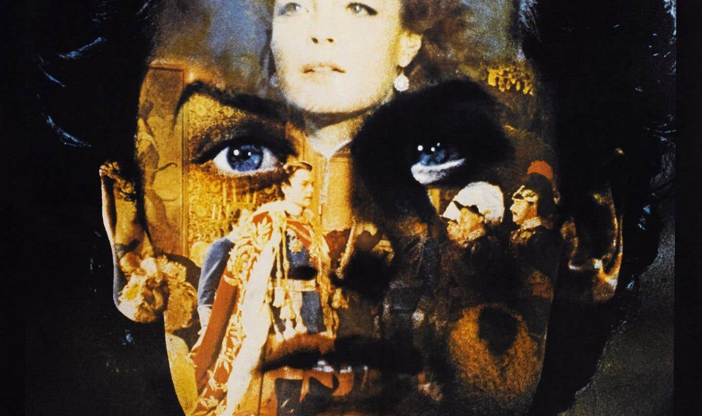Affiche française du film «Ludwig» ou le crépuscule des dieux de Luchino Visconti