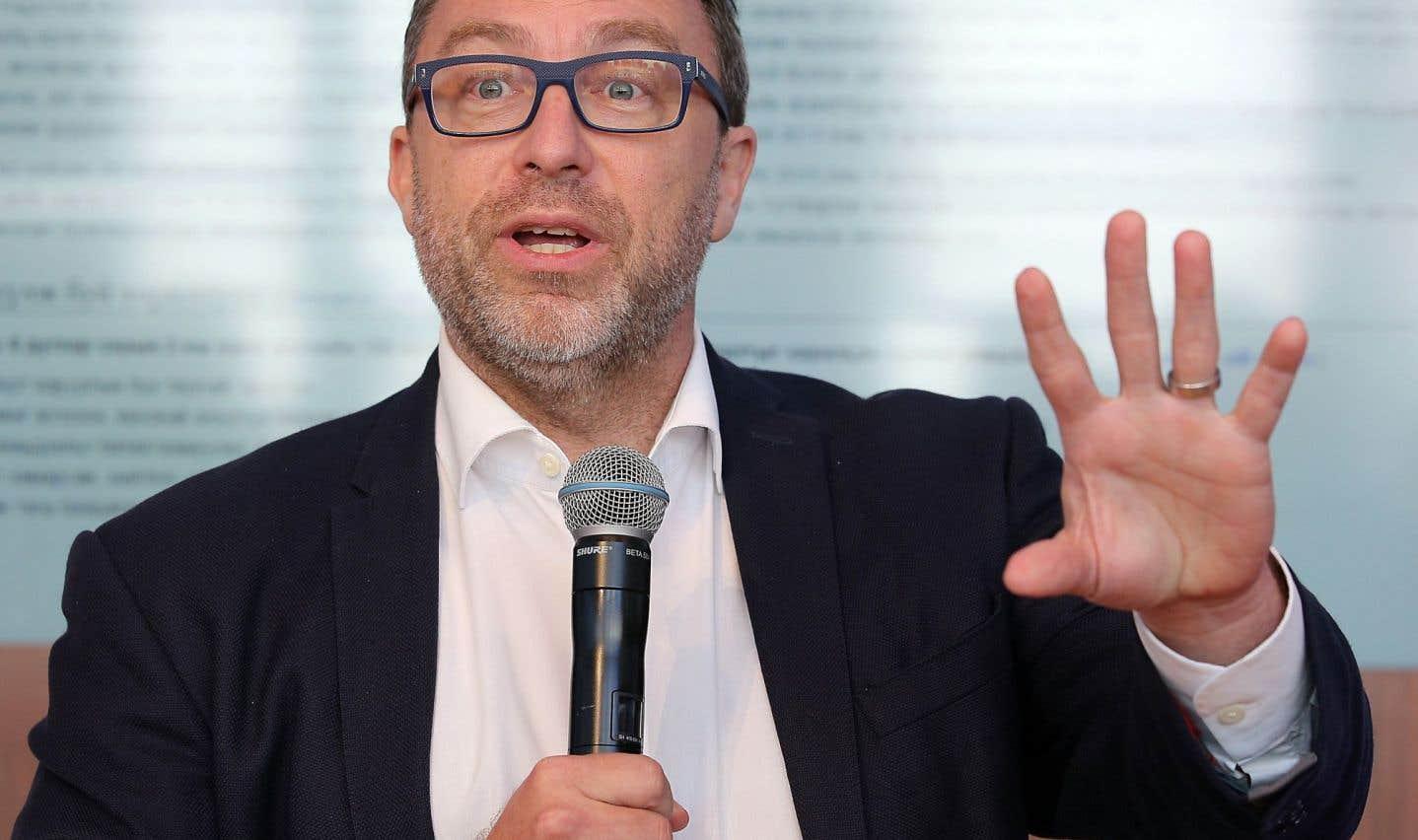 Le fondateur de l'encyclopédie en ligne Wikipedia, Jimmy Wales, a prononcé une allocution dans le cadre d'un événement organisé par la Chambre de commerce du Montréal métropolitain, lundi à Montréal.
