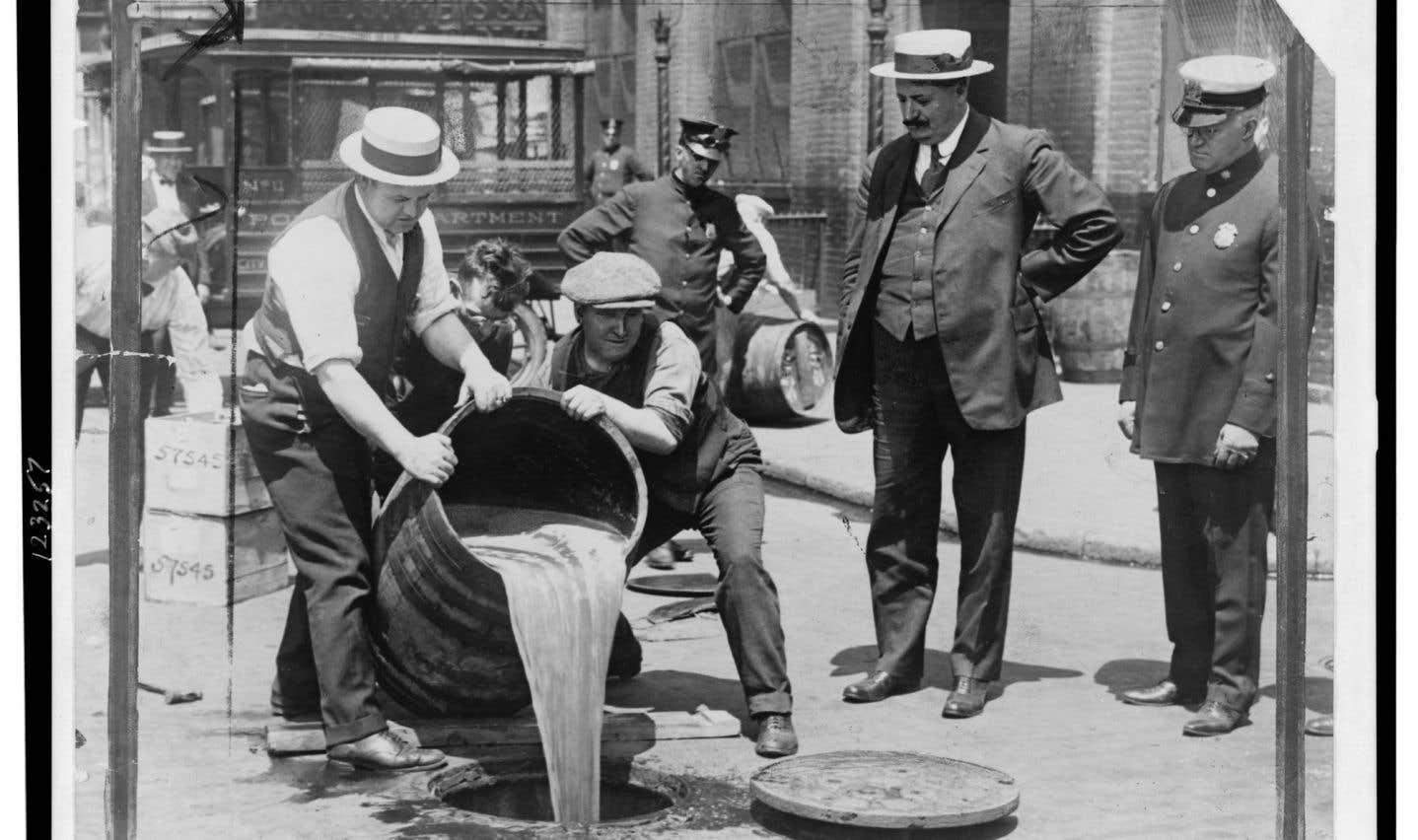 Entre prohibition, tempérance et libre-service