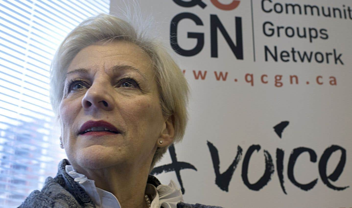 Sylvia Martin-Laforge, la directrice de l'organisme Quebec Community Groups Network.