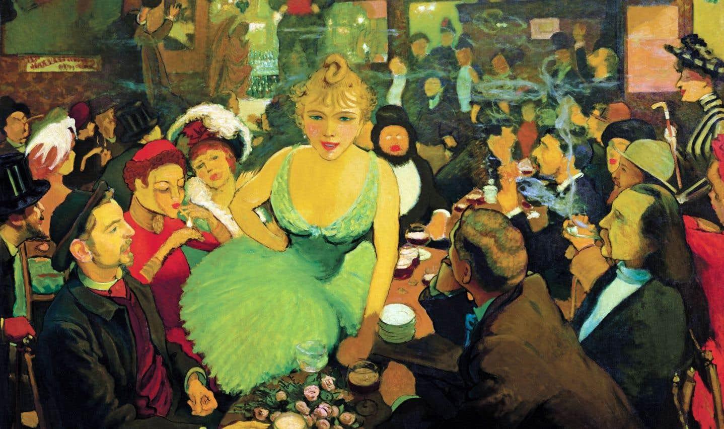 «L'intérieur de chez Bruant. Le Mirliton» (1886-1887) de Louis Anquetin
