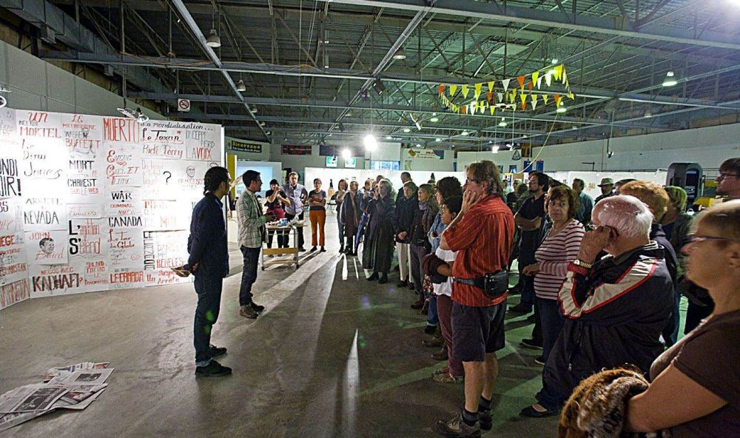 Cet été, Baie-Saint-Paul accueillera la 34e édition du Symposium international d'art contemporain.