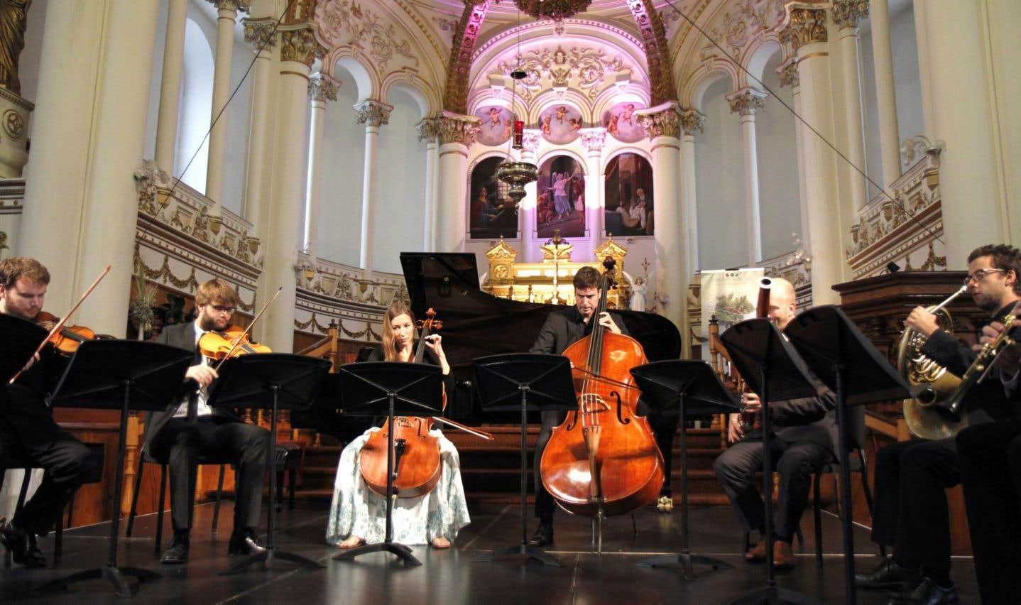 Concert à l'église du Bic