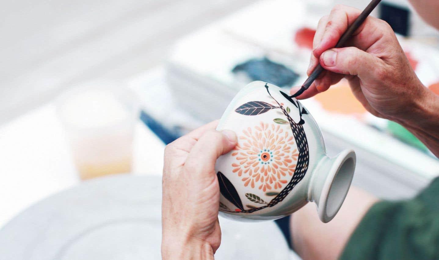 1001 Pots est le rendez-vous des passionnés de céramique dans les Laurentides.