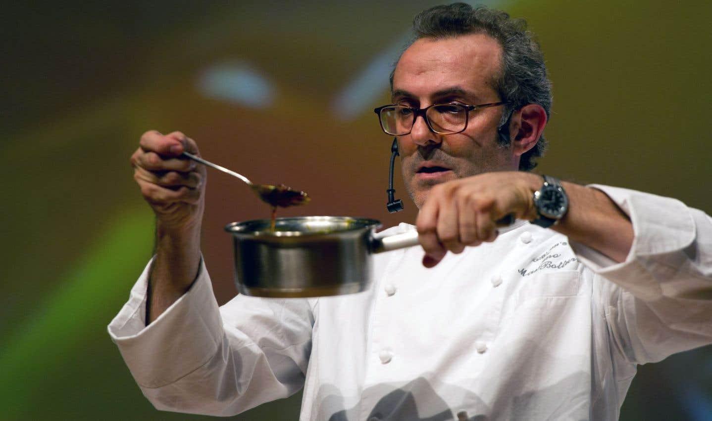 Le chef Massimo Bottura