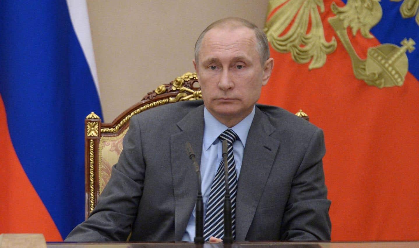 Le président de la Russie, Vladimir Poutine