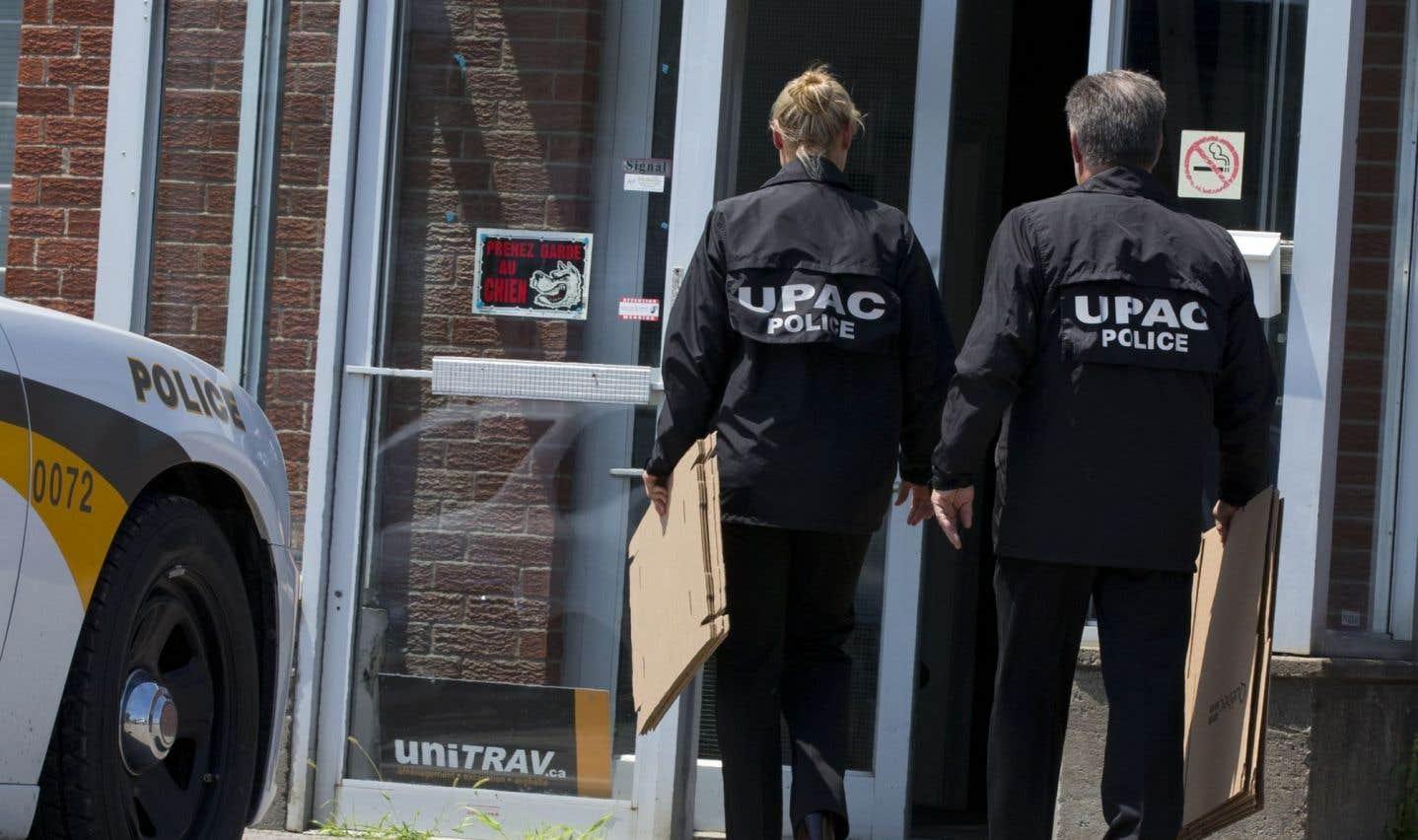 L'UPAC perquisitionne l'entreprise de Marc Bibeau