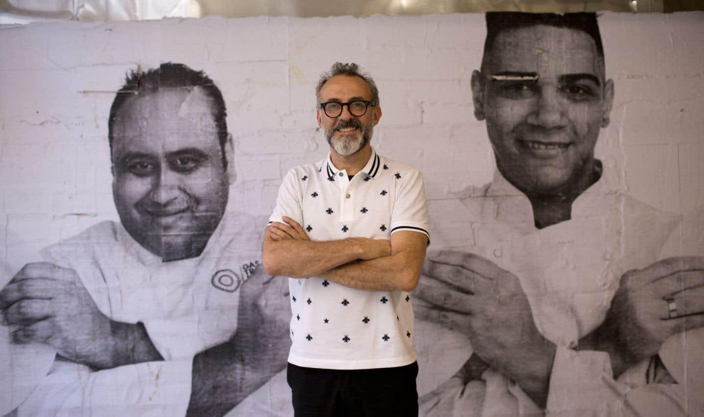 Massimo Bottura est le chef du restaurant Osteria Francescana, un trois étoiles Michelin à Modène, en Italie.