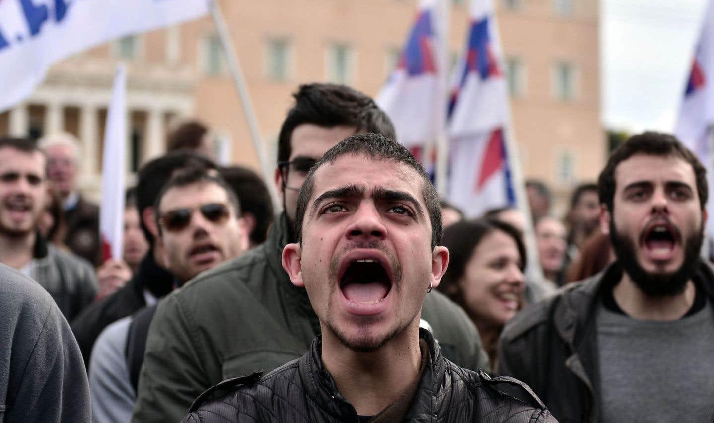 La leçon grecque à l'Europe entière