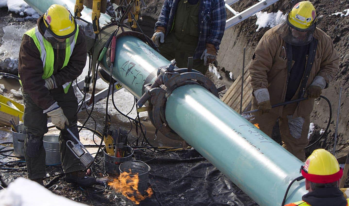 Des pièces de pipelines douteuses